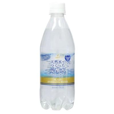 神戸居留地 炭酸水 500mlペット 1ケース (24本入り) 「富永貿易」