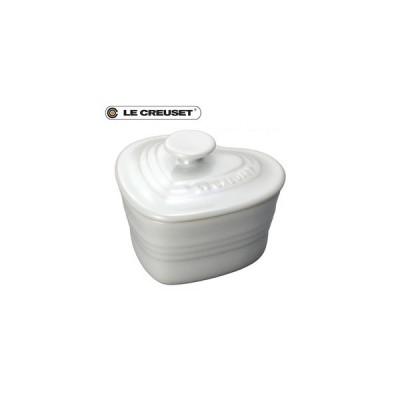ル・クルーゼ LE CREUSET ストーンウェア ラムカン・ダムール (S・フタ付き) ホワイトラスター 910031-10-296  (日本国内正規品) JAN: 0630870142533 [T]