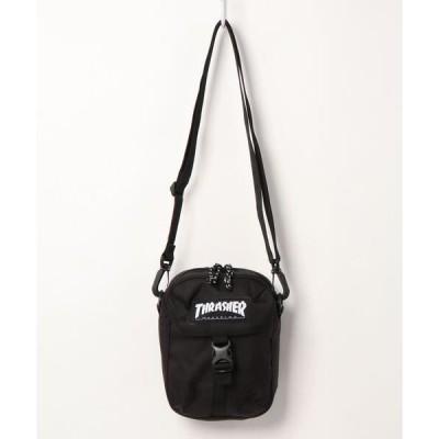 ショルダーバッグ バッグ 【THRASHER/スラッシャー】ミニショルダーバッグ