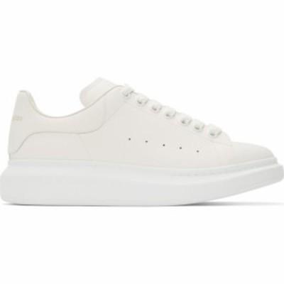 アレキサンダー マックイーン Alexander McQueen メンズ スニーカー シューズ・靴 White Oversized Sneakers White/White