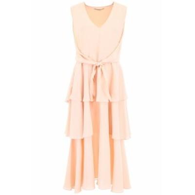 STELLA MCCARTNEY/ステラ マッカートニー シルクドレス ROSE MIX Stella mccartney long silk dress レディース 春夏2019 550741 SY206 i