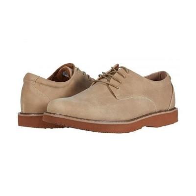 Deer Stags デアスタッグズ メンズ 男性用 シューズ 靴 オックスフォード 紳士靴 通勤靴 Walkmaster Plain Toe Oxford - Sand