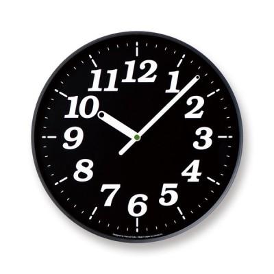 レムノス Lemnos Dot clock / ArabicKK15-12 BK 掛け時計 KK15-12BK 日本製 モダン 北欧スタイル Dot