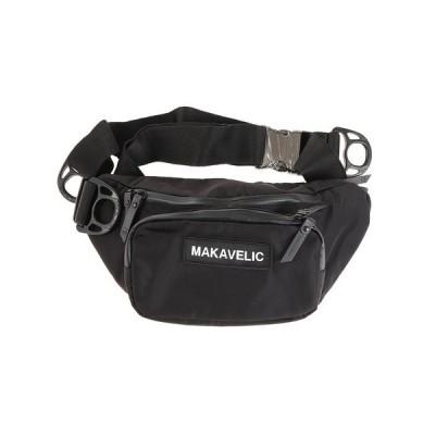 マキャベリック(MAKAVELIC) クレセントウエストバッグ 310810304 オンライン価格 (メンズ、レディース)