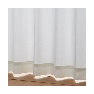 【1cm単位オーダー】遮熱。24時間見えにくいレースカーテン レースカーテン・ボイルカーテン, Curtains, sheer curtains, net curtains(ニッセン、nissen)