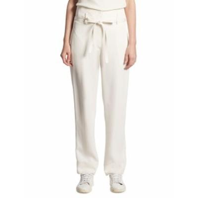 セオリー レディース パンツ Gunilla Straight Silk Pants
