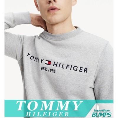 トミーヒルフィガー スウェットシャツ トレーナー メンズ オーガニックコットン ロゴ XS〜XXL 新作 TOMMY
