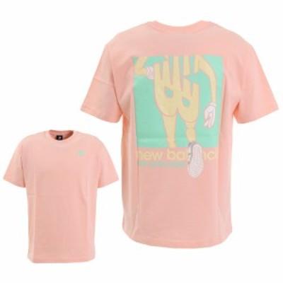 ニューバランス(new balance)Tシャツ 半袖 メンズ アスレチックスランナーショートスリーブ MT01515PSA …