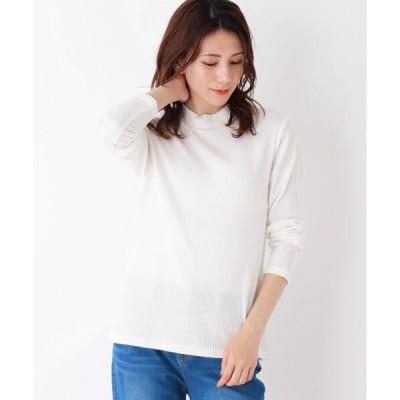 tシャツ Tシャツ 【M-LL】テレコハイネックTシャツ