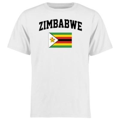 ファナティクス ブランデッド メンズ Tシャツ トップス Zimbabwe Flag T-Shirt