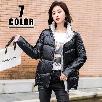 中綿ジャケット レディース ダウンコート アウター ゆったり 冬 防寒 ジャケット コート服 20代30代40代50代