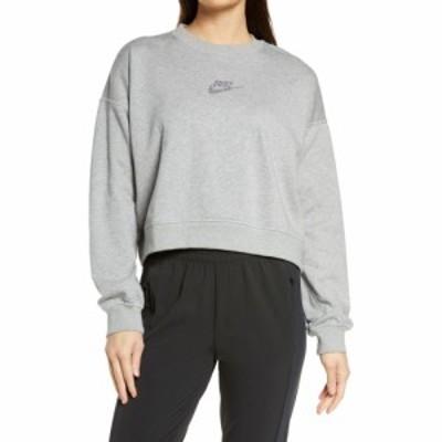 ナイキ NIKE レディース スウェット・トレーナー トップス Sportswear Crewneck Sweatshirt Dk Grey Heather/Multi Color