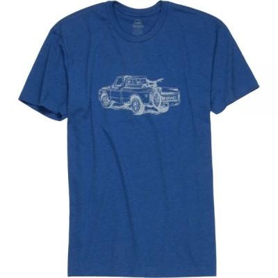 ゾイック ZOIC メンズ Tシャツ トップス Truck T - Shirt - Short - Sleeve Blue