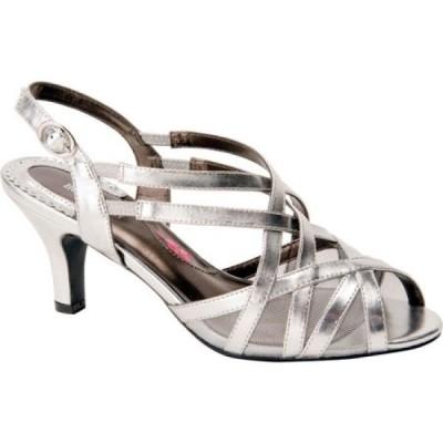 ロスホマーソン Ros Hommerson レディース サンダル・ミュール シューズ・靴 Lacey Matte Silver PU