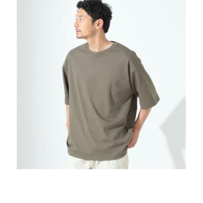 B:MING by BEAMS / クイックドライ エアリー クルーネックTシャツ(ドロップフィット)