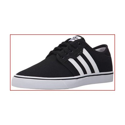 adidas Originals mens Seeley Running Shoe, Black/White Gum, 10.5 US【並行輸入品】