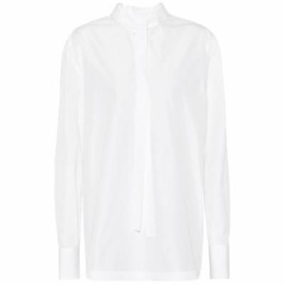 ヴァレンティノ Valentino レディース ブラウス・シャツ トップス Cotton-blend blouse