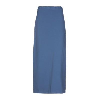 アルファスタジオ ALPHA STUDIO ロングスカート パステルブルー 40 コットン 95% / ポリウレタン 5% ロングスカート