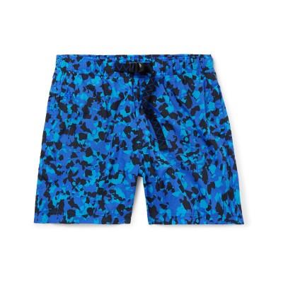 ナイキ NIKE バミューダパンツ ブルー M ナイロン 100% バミューダパンツ
