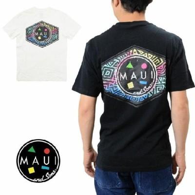 マウイアンドサンズ Tシャツ バッククッキーロゴプリント 半袖 MAUI and Sons TU1002 COOKEI LOGO PRINTT メンズ