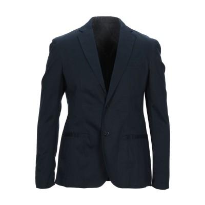 ARMANI EXCHANGE テーラードジャケット ダークブルー 40 コットン 98% / ポリウレタン 2% テーラードジャケット