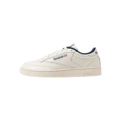 リーボック メンズ スニーカー シューズ CLUB C 85 - Trainers - chalk/paperwhite/navy chalk/paperwhite/navy