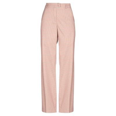 GARAGE NOUVEAU パンツ ピンク 0 ウール 42% / ナイロン 18% / コットン 18% / ポリエステル 13% / 合成繊維