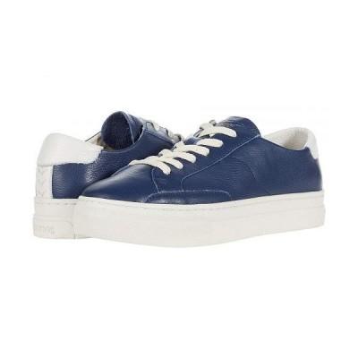 Soludos ソルドス レディース 女性用 シューズ 靴 スニーカー 運動靴 Ibiza Platform Sneaker - Marine Blue