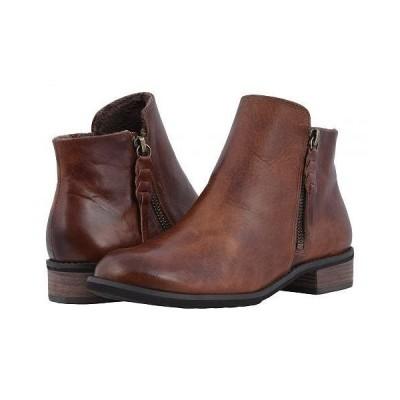Walking Cradles ウォーキングクレイドル レディース 女性用 シューズ 靴 ブーツ アンクル ショートブーツ Kason - Chestnut Rustic Leather