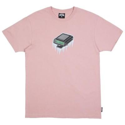 アイスクリーム メンズ 服  Ice Cream Men Pager Tee (pink / mauve)