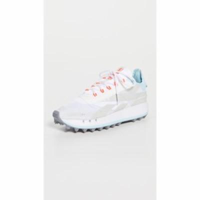 リーボック Reebok レディース スニーカー シューズ・靴 Legacy 83 Sneakers White/Morning Fog/Digital Glow