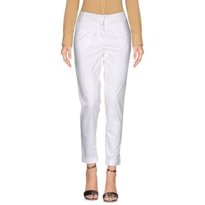 マニラ グレース MANILA GRACE パンツ ホワイト 28 コットン 97% / ポリウレタン 3% パンツ