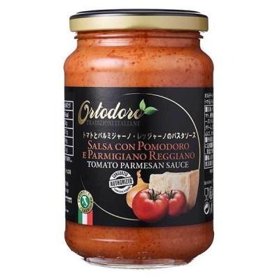 オルトドーロ パスタソース トマト&パルミジャーノ 瓶 350g x 12個 ケース販売 モンテ イタリア パスタソース 002887