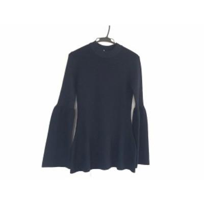 エリン ELIN 長袖セーター サイズ0 XS レディース 美品 ダークネイビー【中古】20200610