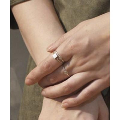 指輪 APICAL ring pin square silver / アピカルスクエアリング