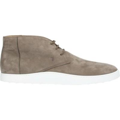トッズ TOD'S メンズ ブーツ シューズ・靴 boots Khaki