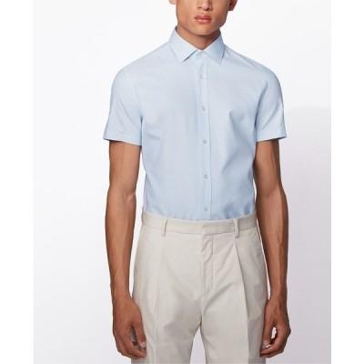 ヒューゴボス シャツ トップス メンズ BOSS Men's Jats Light Pastel Blue Shirt Light/Pastel Blue