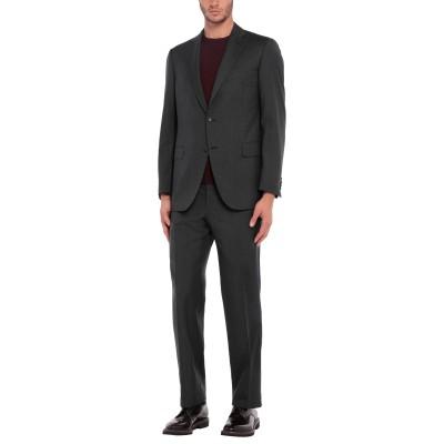 パル ジレリ PAL ZILERI スーツ スチールグレー 52 バージンウール 100% スーツ