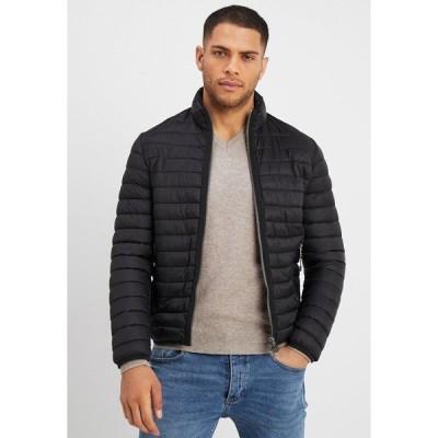 マルコポーロ ジャケット&ブルゾン メンズ アウター JACKET - Light jacket - black