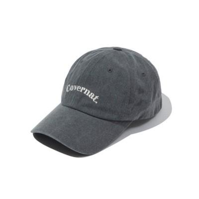 WANT SLIP / 【COVERNAT】SERIF ARCH LOGO BALL CAP / カバーナット セリフ アーチ ロゴ ベースボール キャップ MEN 帽子 > キャップ