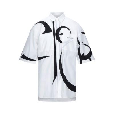 ジバンシィ GIVENCHY シャツ ホワイト 37 コットン 100% シャツ