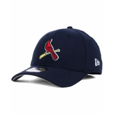 ニューエラ メンズ 帽子 アクセサリー St. Louis Cardinals Core Classic 39THIRTY Cap Navy