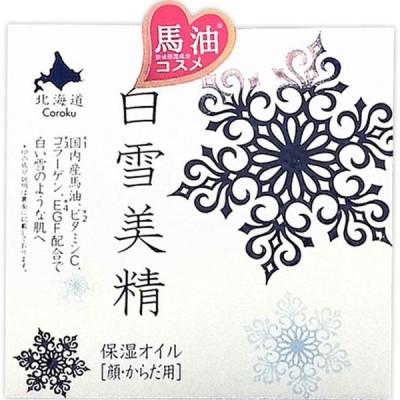 小六 Coroku 白雪美精 保湿オイル(顔・からだ用) 100ml