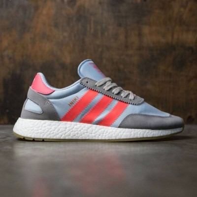アディダス Adidas メンズ スニーカー シューズ・靴 Iniki Runner gray/charcoal solid grey/turbo/gum