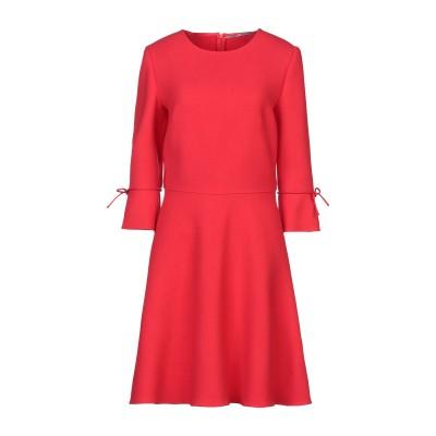 エルマノ シェルヴィーノ ERMANNO SCERVINO ミニワンピース&ドレス レッド 42 バージンウール 100% ミニワンピース&ドレス