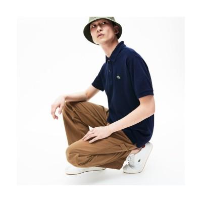 【ラコステ】 『L.12.12』定番半袖ポロシャツ メンズ ネイビー 5(日本サイズXL) LACOSTE