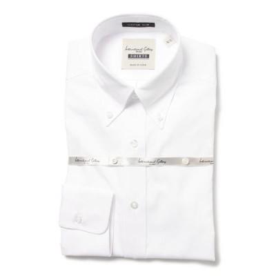 シャツ ブラウス International Gallery BEAMS / カスタムスリム ピンオックスフォード ドレスB.Dシャツ