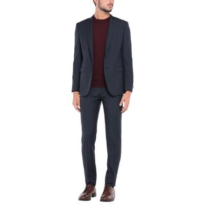 トネッロ TONELLO スーツ ダークブルー 48 バージンウール 100% スーツ