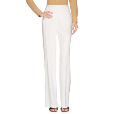 MARIA GRAZIA SEVERI パンツ ホワイト 42 61% アセテート 34% レーヨン 5% ポリウレタン パンツ