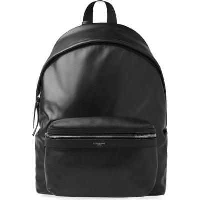 イヴ サンローラン Saint Laurent メンズ バックパック・リュック バッグ leather city backpack Black